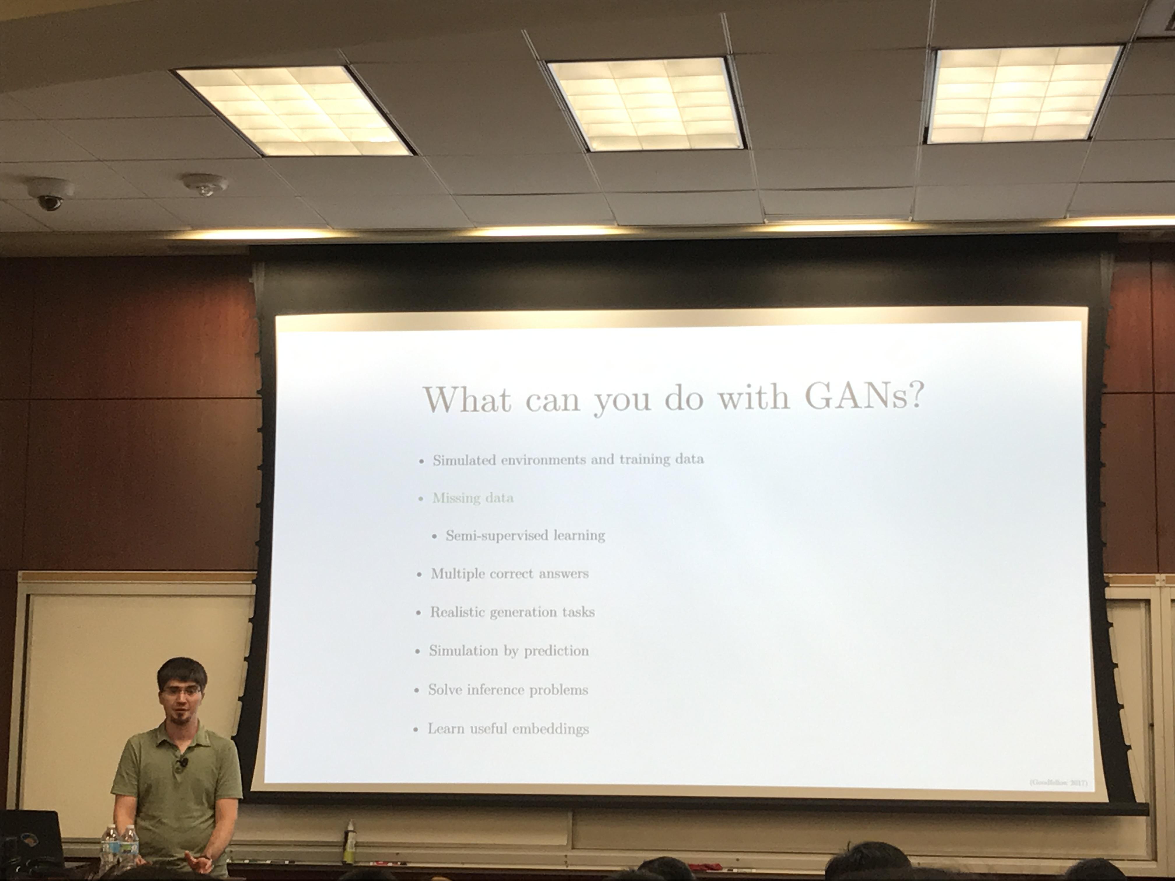 Talks:GAN by Ian Goodfellow | Jimrex